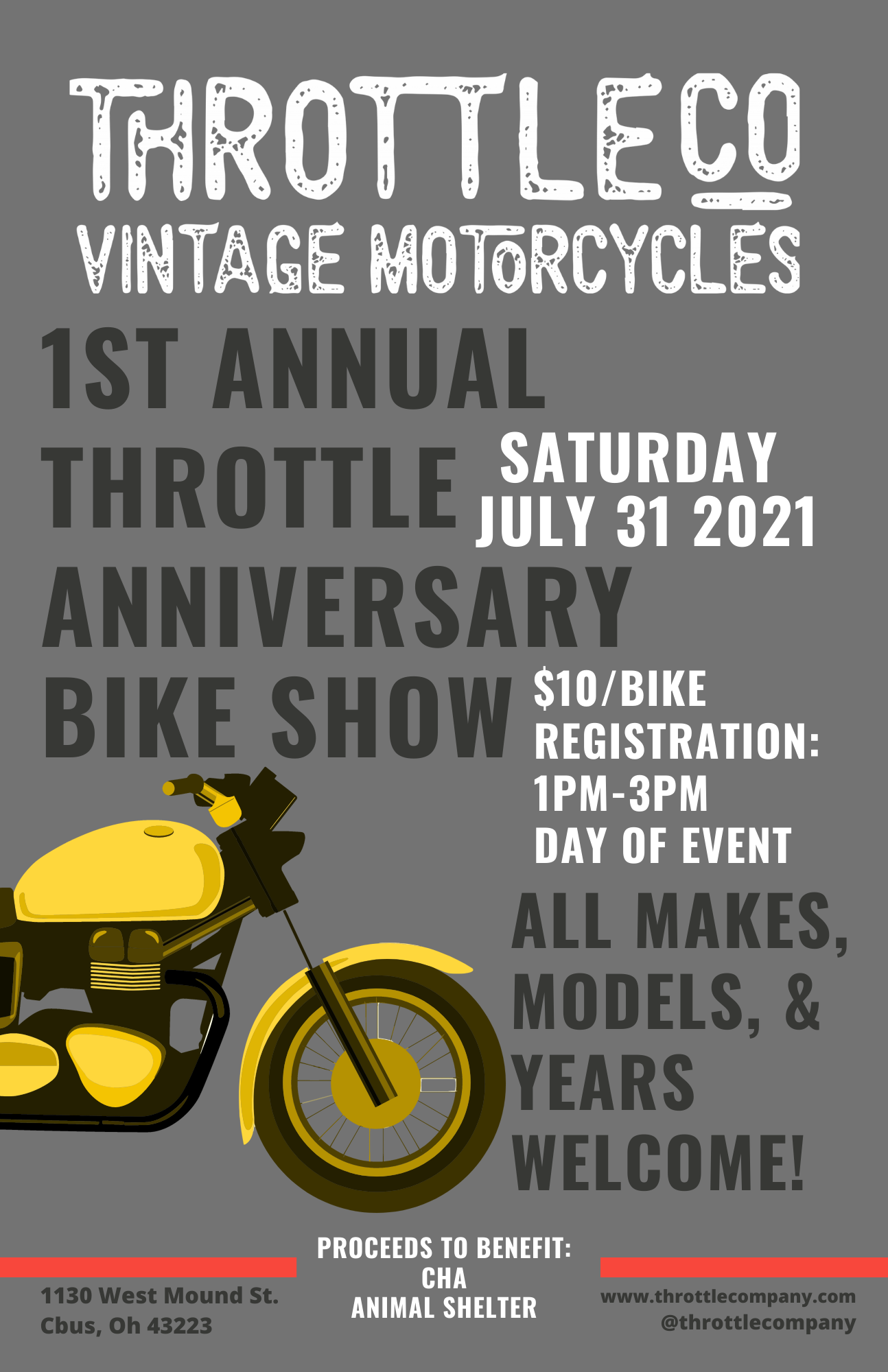 1st anniversary vintage bike Show (2)